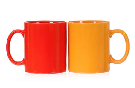 mugged: Two cups
