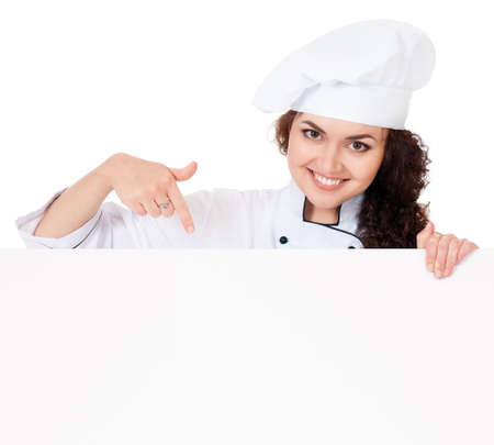Woman cook photo