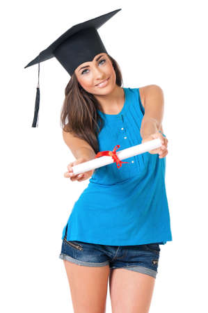 Student girl photo