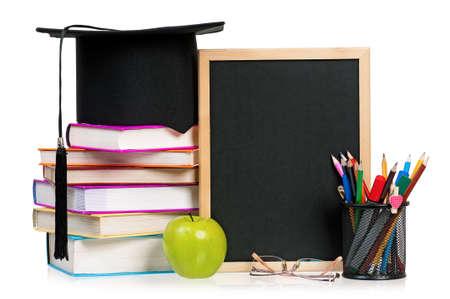 black board: Back to school concept