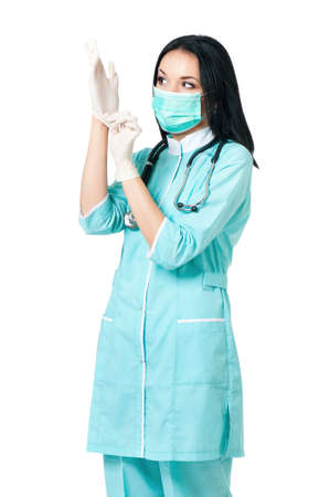 proctologist: Female doctor