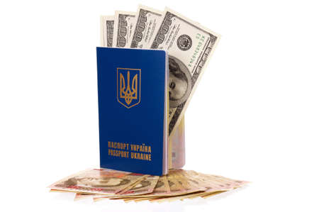 hryvna: Passport Ukraine
