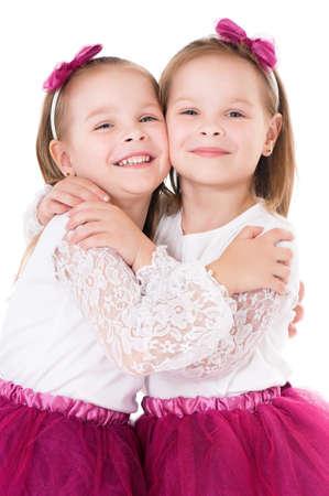Happy twins photo