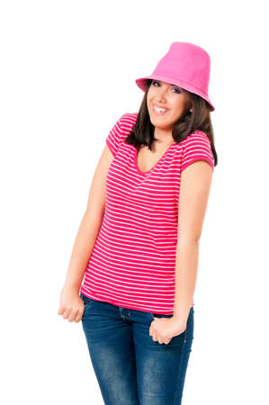 Girl with hat photo