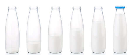 Milk bottle photo