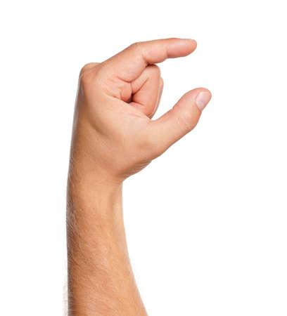 tact: Man hand