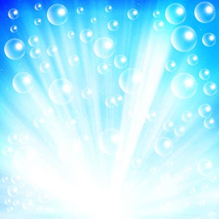 rising graphic: bubble light