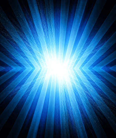 electrocute:  flash of lightning on a blue background