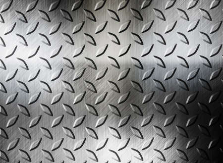 diamont plate metal background Stock Photo - 12691617