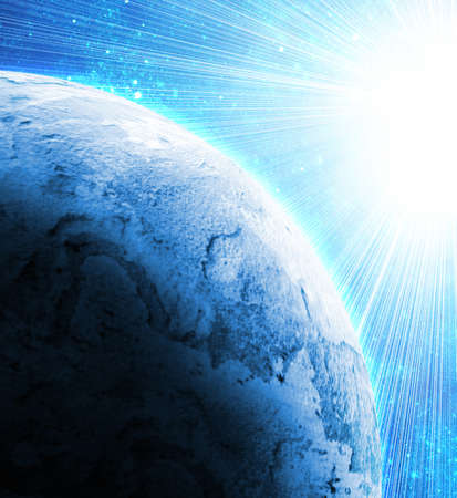 cosmo: two planets in space