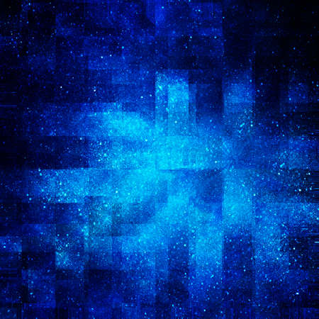 digital background of space with stars Stock Photo - 12697311
