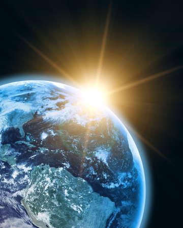 earthlike: earth in open space
