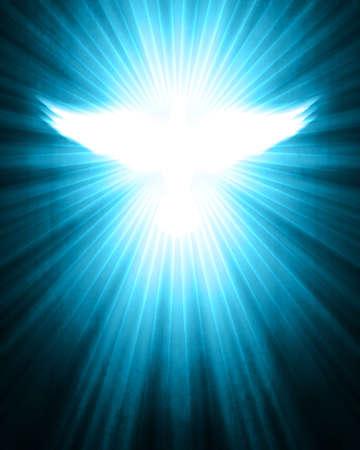 holy  symbol: paloma, brillando con los rayos