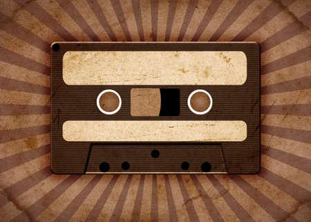 tape recorder: de fondo de la vendimia con cinta de edad