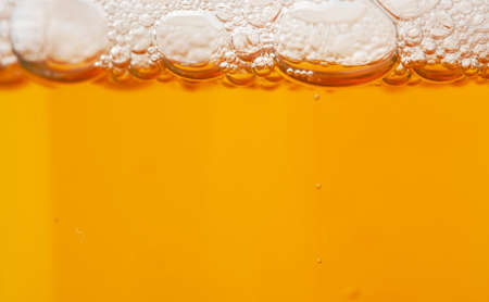 Beer bubbles background photo