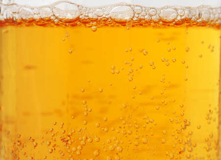 Close up of beer bubbles Stock Photo - 12693158