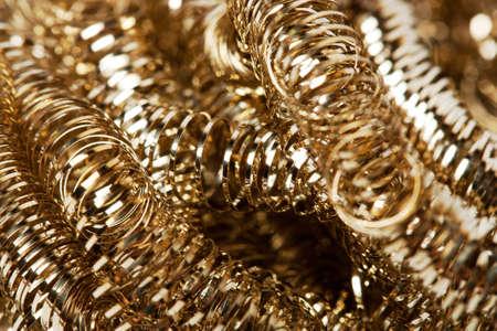 metallschrott: Altgold Späne Hintergrund