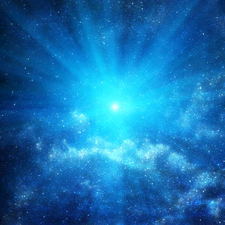 astronomie: Hintergrund der Raum mit Sternen Lizenzfreie Bilder