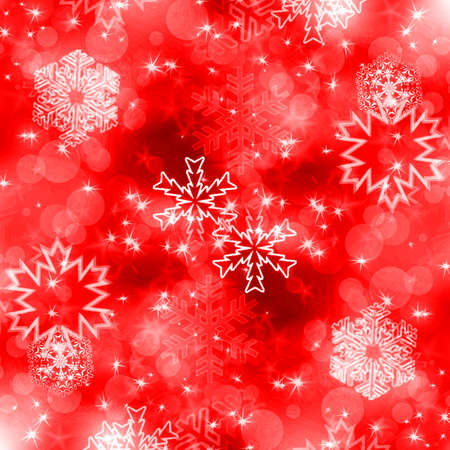 snoflake: Christmas background with white snowflakes and stars