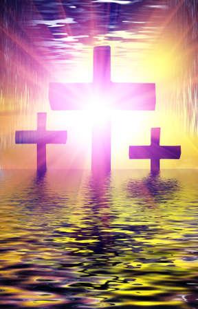 godlike: Holy water Cross