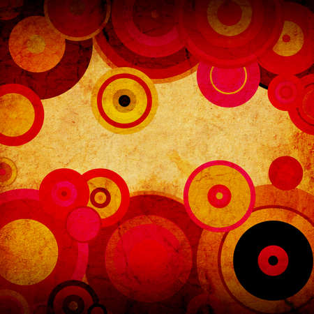abstract background of striped circles photo