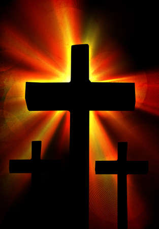 grunge cross: Grunge Croce sfondo