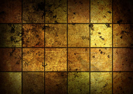 grunge golden mosaic background photo