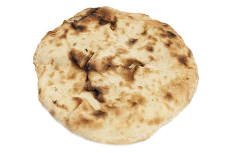 Pita Bread isolated on a white background photo