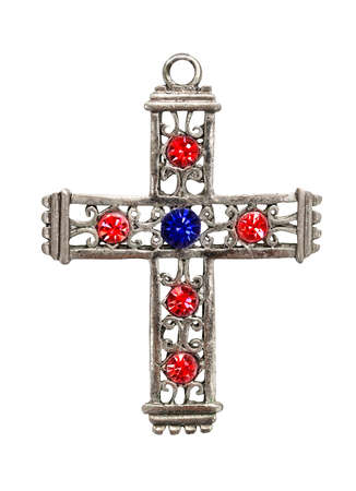 Beautiful Diamond cross Stock Photo - 12699564