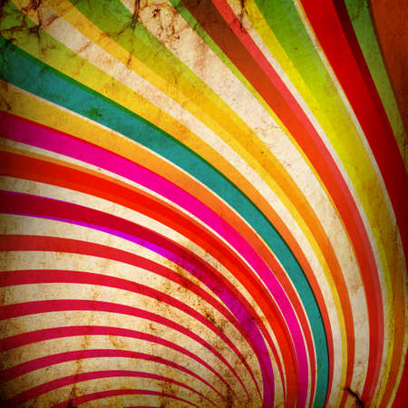 fete: Multicolor Sunbeams grunge background