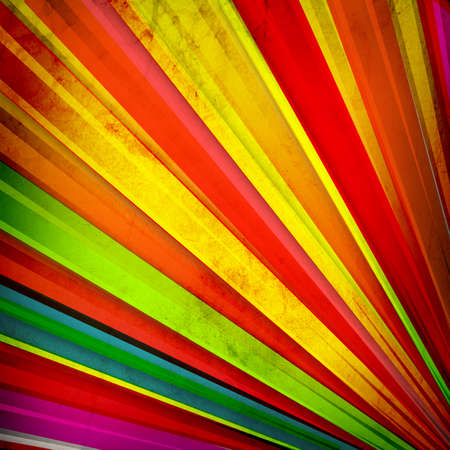 Multicolor Sunbeams grunge background photo