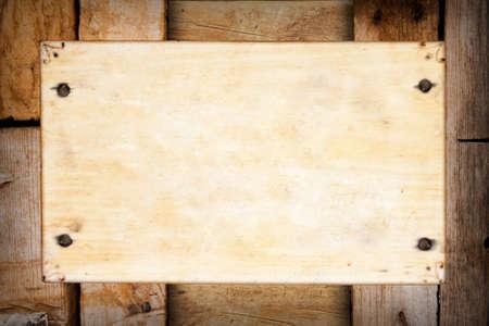old wooden background frame photo