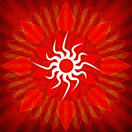 Sun grunge background photo