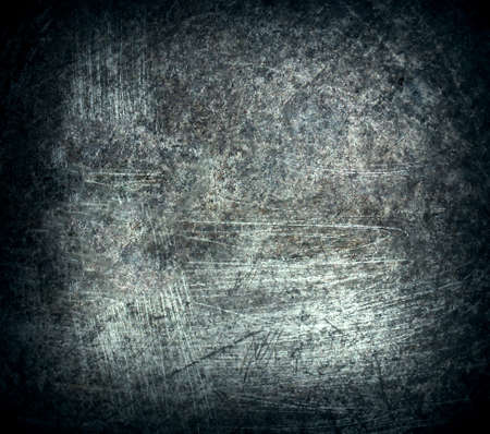 aluminium wallpaper: old grunge metal background Stock Photo