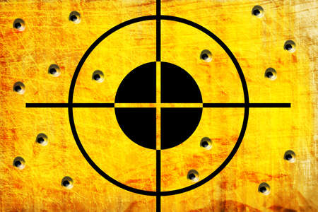 kill: target on the wall with hole from shoot