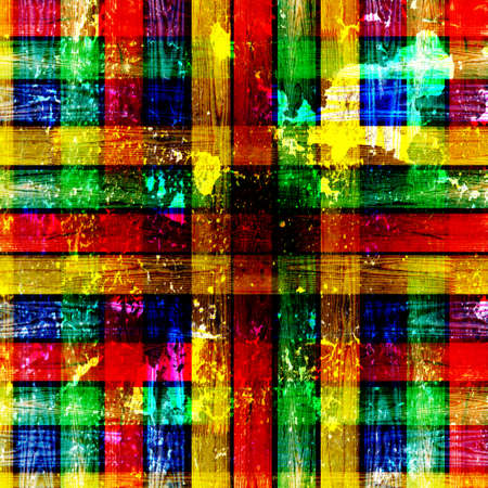 abstract dirty colorful checkerboard photo