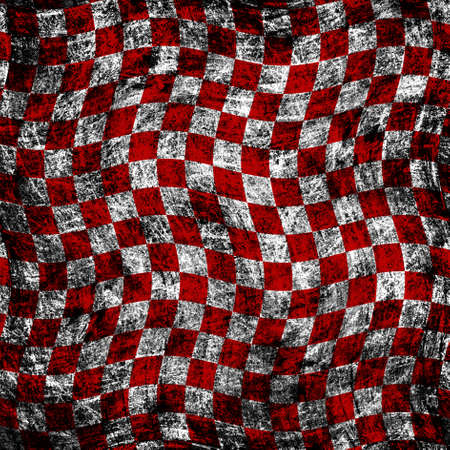 checker: grunge chessboard background