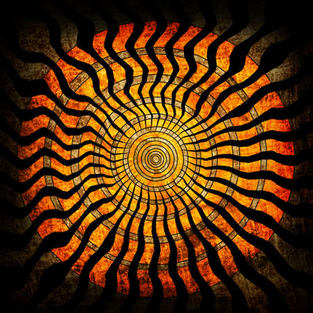 Spiral grunge background photo