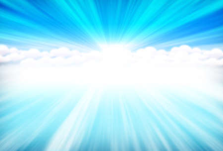 blue heavens Stock Photo - 12706337
