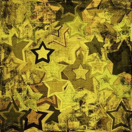 broun: background of grunge military stars