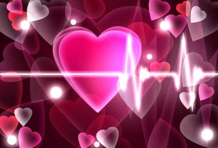 paliza: El tema del D�a de San Valent�n con el coraz�n latiendo