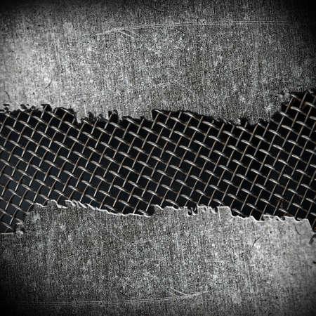 crack metal background  Stock Photo - 12711506