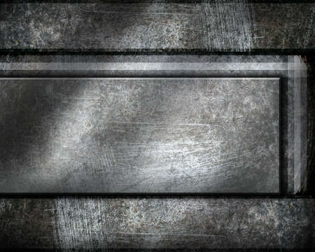 metal template background Stock Photo - 12711523