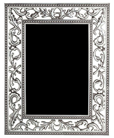 antique silver frame  photo