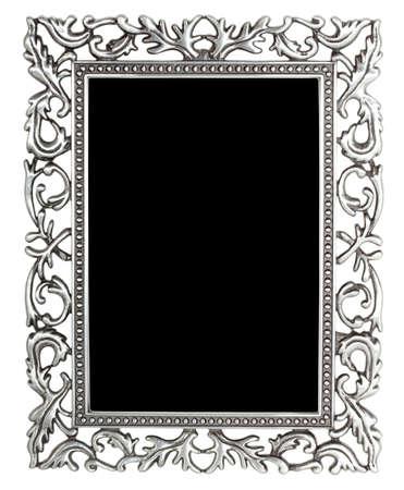 silver frame: antique silver frame