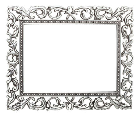 wrought iron frame   免版税图像
