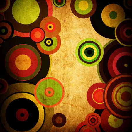 abstract background of striped circles