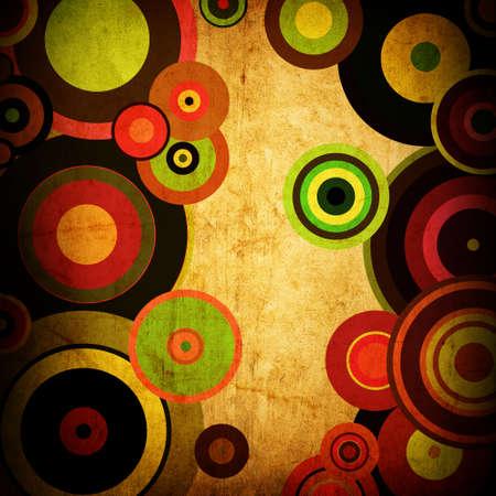 resumen de antecedentes de los círculos de rayas