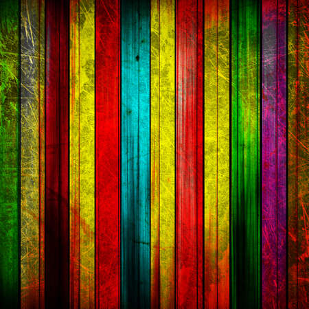old poster: old abstract colorful lines