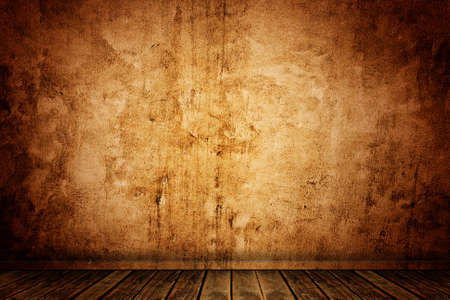 old grunge room background photo